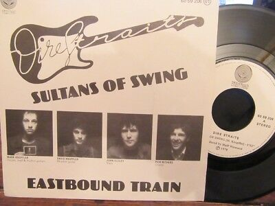 "DIRE STRAITS ""Sultans Of Swing"" Spanish 7"" in Picture Sleeve - Vertigo 6059 206"