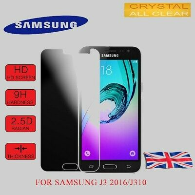 For Samsung Galaxy J3 2016 100% Genuine Tempered Glass Screen Protector