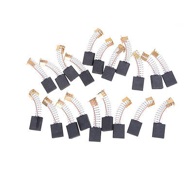 20pcs 6x16x20mm Carbon Brushes Repairing Part Generic Electric Motor CO