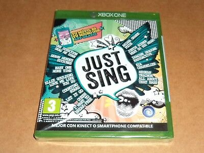 Just Sing para XBOX ONE,  a estrenar, Pal
