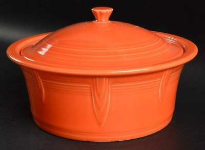 Homer Laughlin FIESTA POPPY (CONTEMPORARY) 2.5Qt Covered Casserole Dish 10669593
