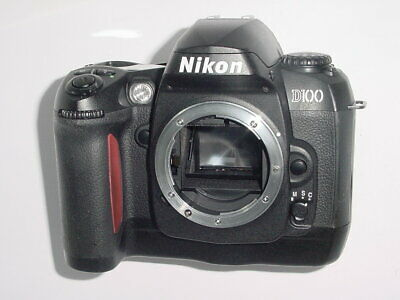 Nikon D D100 6.1MP Digital SLR Camera - Black (Body only)