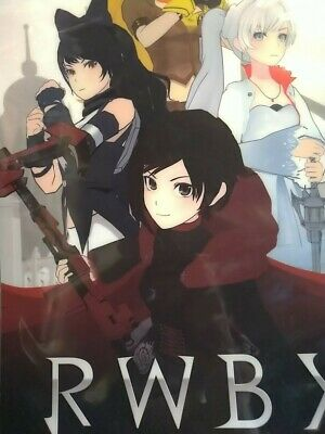 manga comic RWBY OFFICIAL MANGA ANTHOLOGY 1/2/3/4 Japanese ver