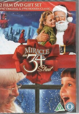 MIRACLE ON 34TH STREET - 2 Film Set (Both 1947 & 1994 Versions) - DVD **NEW**