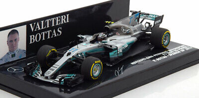 1:43 Minichamps Mercedes AMG F1 FW08 EQ  GP Spain Bottas 2017