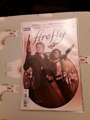 Joss Whedon Comic Firefly Number 1 Bagged And Boarded New