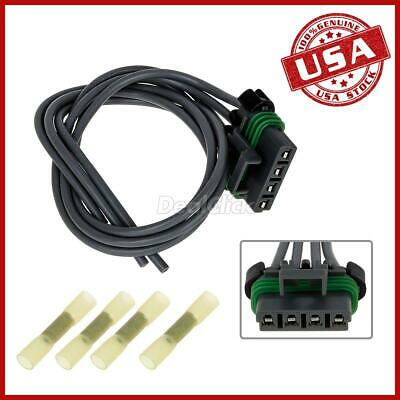 blower motor resistor connector pigtail harness for 99-04 jeep grand  cherokee