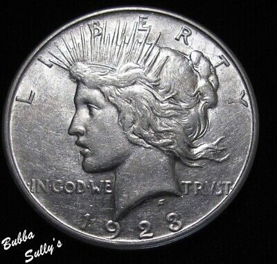 1923 D Peace Silver Dollar <> ABOUT UNCIRCULATED