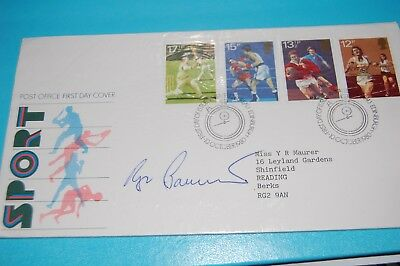 Roger Bannister Signed 1980 Sports First Day Cover 2