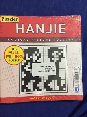 puzzler Hanjie no. 231 (2018) (5 books inside pack)