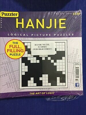 puzzler Hanjie no.232 (2018)(5 books inside pack)