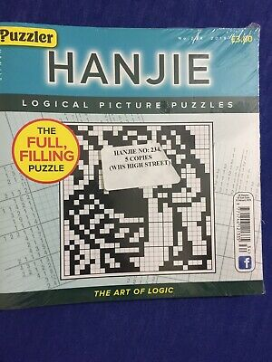 puzzler Hanjie no.234 (2019) (5 books inside pack)