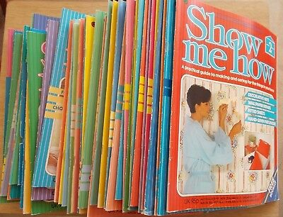 Bulk Lot~Show Me How~Sewing~Embroidery~Upholstery~48 Issues~Pick Up S.A. 5109