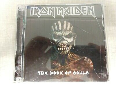 The Book of Souls by Iron Maiden (CD, Sep-2015, 2 Discs, BMG (distributor))