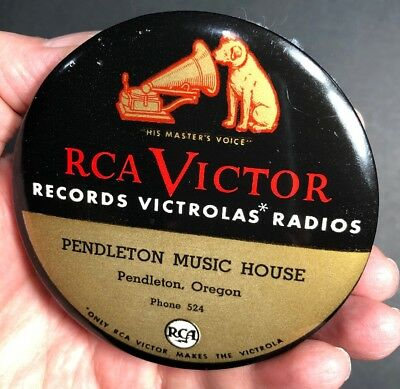 RCA Victor Record Cleaner Celluloid Pendleton Oregon Victrola Nipper Dog