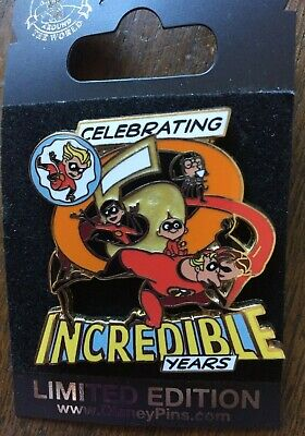 Disney The Incredibles 5th Anniversary Pin LE 1500
