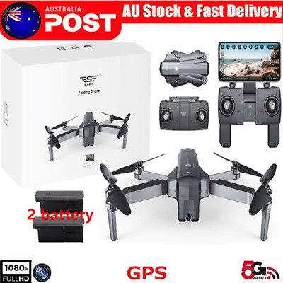 SJRC F11 GPS RC Drone Foldable Quadcopter With 5G WiFi FPV 1080P HD Camera  AU!