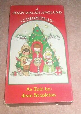 A Joan Walsh Anglund Christmas VHS As Told By Jean Stapleton 1990 Avon