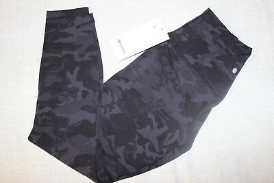 5a2dcd7d61 Lululemon Size 10 Women's Align 7/8 Pant 25'' ICMG Incognito Camo Multi