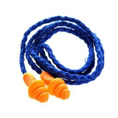10 Pairs Silicone Earplugs Noise Reduction Ear Muffs for Sleep Travel Swimming