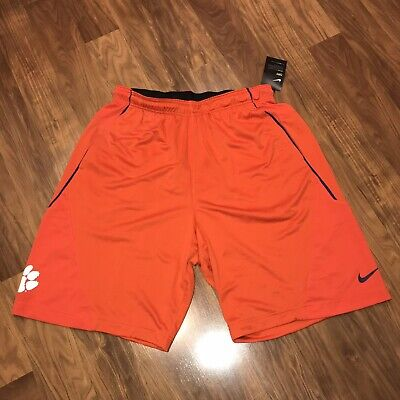 a92bed51ef43 NWT Nike Dri-Fit CLEMSON TIGERS Football ON FIELD Player Team Shorts MENS XL  New