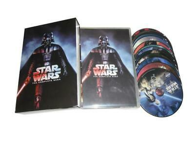 Star Wars: The Complete Saga DVD 1-7 (13-Disc Box Set ) 1-6 +  Force Awakens NEW