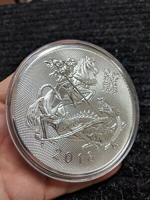 2018 Great Britain 10 Oz 999 Silver Valiant Coin #634