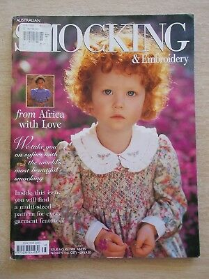 Australian Smocking & Embroidery #45~Dresses~Boy's Christening Outfit~Nightdress