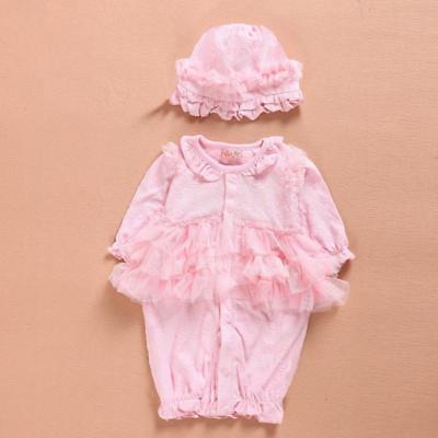Sweet Clothes Dress 1 Sets For 22'' Reborn Newborn Baby Girl Doll Birthday Gifts