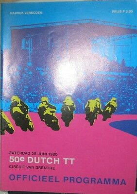 * Dutch TT Assen - Official Race - Programme  1980 *