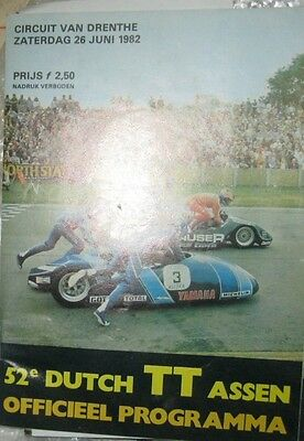 * Dutch TT Assen - Official Race - Programme  1982 *