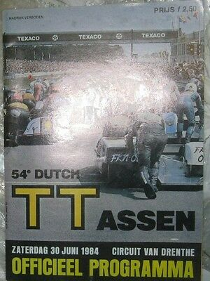 * Dutch TT Assen - Official Race - Programme  1984 *