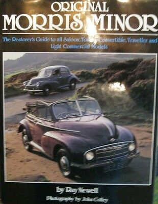 * ORIGINAL Morris Minor RESTORER ´S GUIDE RESTAURATION *