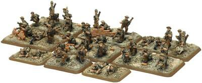 Battlefront FoW WWII UK 15mm Commonwealth Rifle Platoon Pack MINT