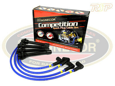 Magnecor 8mm Ignition HT Leads Wires Cable Harley Davidson FXR/S 1340cc Twin 89