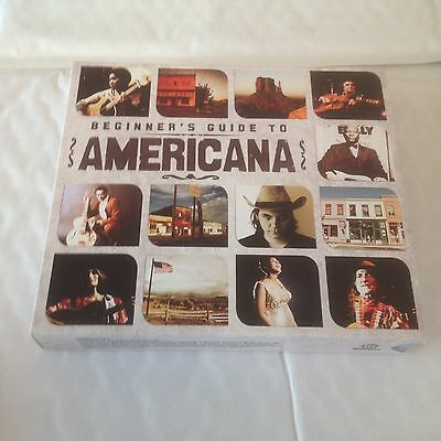 Americana - Beginner's Guide To - CD X 3 (2010) Folk Country Blues