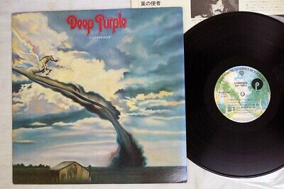DEEP PURPLE STORMBRINGER WARNER P-10110W Japan VINYL LP