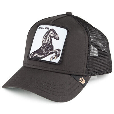 7233ee49 GOORIN BROS. STALLION Trucker Cap - Black - £29.95 | PicClick UK