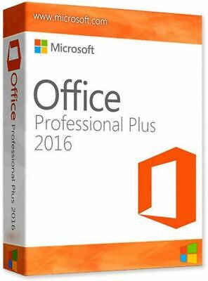 Microsoft Office 2016 Professional Plus Activation Digital Key Instant Delivery