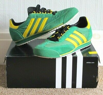 the latest 8a6e9 def4b Vintage Adidas SL76 Trainers Size 9 UK