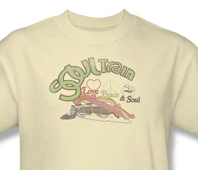 Soul Train T-shirt Free Shipping vintage inspired 1970's disco music cotton tee