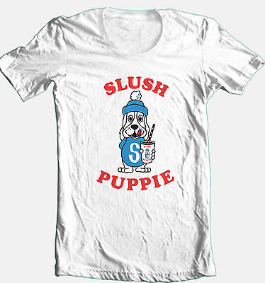 Slush Puppy T shirt retro 80's vintage 100% cotton graphic printed  tee
