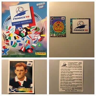 PANINI FRANCE 98 Stickers Complete your set, 1, 2, 3, 4, 5,10,12,15,25 available