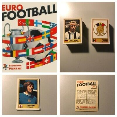 PANINI EURO 76 Stickers. Complete your album, 1, 2, 3, 4, 5,10,15 available