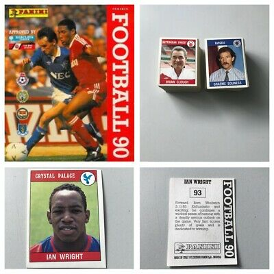 PANINI FOOTBALL 90 Stickers. Complete your set, 1, 2, 3, 4, 5,10,15,25 available