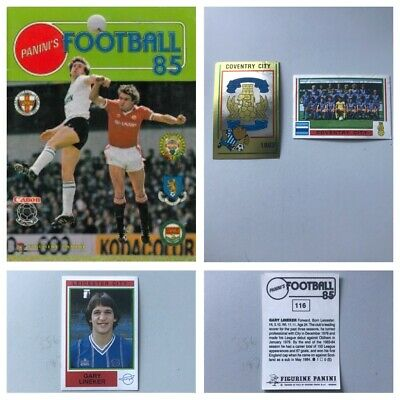 PANINI FOOTBALL 85 Stickers. Complete your set, 1, 2, 3, 4, 5,10,15,25 available