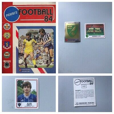 PANINI FOOTBALL 84 Stickers. Complete your set, 1, 2, 3, 4, 5,10,15,25 available