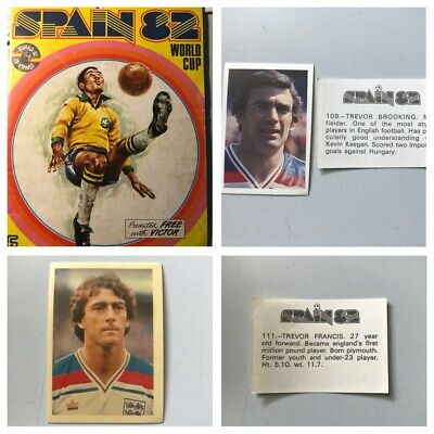 FKS SPAIN 82 WORLD CUP Stickers. 1, 2, 3, 4, 5,7,10,15,25 available