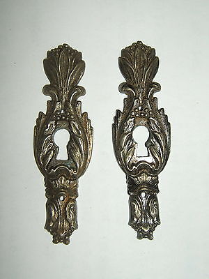 2 Intake Chrome Metal Carved for Drawer of Chest of Drawers