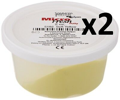 Rolyan Hand Therapy Putty - Physical, Sensory Therapy, Micro Fresh, 2 = 2oz tubs